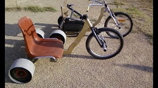 getlinkyoutube.com-Fabrication de 2 drift trikes