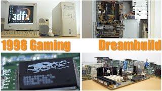 getlinkyoutube.com-1998 Gaming Dreambuild! Pentium II 450, Voodoo2 sli