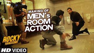 MAKING OF MEN's ROOM ACTION   Rocky Handsome   John Abraham, Nishikant Kamat   T-Series
