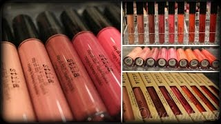getlinkyoutube.com-*NEW* Stila Stay All Day Liquid Lipsticks! Lip Swatches/Arm Swatches/Review (FULL COLLECTION)