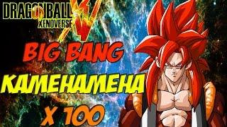 getlinkyoutube.com-DragonBall Xenoverse Ultimate Attacks: How To Get SSJ4 GOGETA Ulitmate BIG BANG KAMEHAMEHA X 100