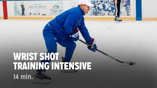 iTrain Hockey Wrist Shot Training - Train The Trainers