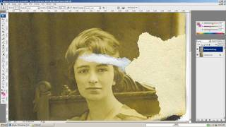 getlinkyoutube.com-Adobe Photoshop old photo restoration - photo touchup