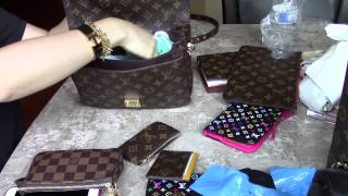 getlinkyoutube.com-Louis Vuitton Pochette METIS VS FAVORITE MM (Comparison)