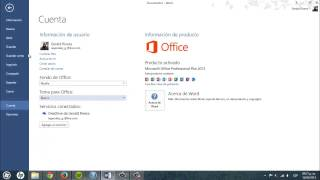 getlinkyoutube.com-Cambiar color y tema en Office 2013