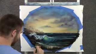 getlinkyoutube.com-Paint with Kevin Hill - Sunset Surf
