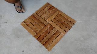 getlinkyoutube.com-Como marcar e assentar piso na diagonal faça você mesmo dica fácil