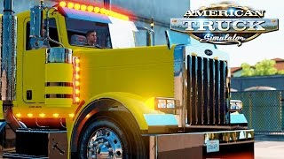 getlinkyoutube.com-American Truck Simulator Live! #29 - 600HP CAT