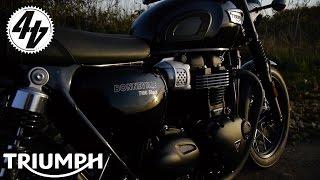 getlinkyoutube.com-Triumph Bonneville T100: Launch Vlog