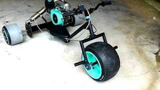 getlinkyoutube.com-Ultimate new model  Motorized drift trike.