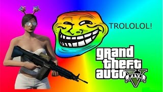 getlinkyoutube.com-GTA 5 Online Gaming: Trolling: Mugger: Mercenaries: Bounties: HeyNowBlu: