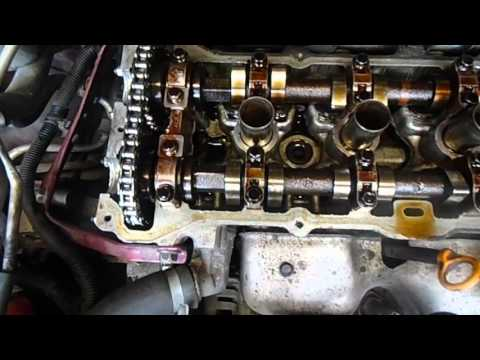 Регулировка клапанов на Nissan AlmeraN15