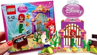 getlinkyoutube.com-Lego Disney Princess Ariel Little Mermaid Disney Toys ラプンツェルの塔