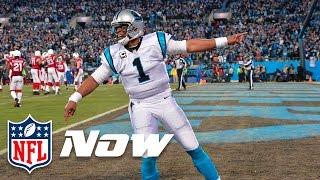 getlinkyoutube.com-Top Dances (NFL Playoffs 2015): Cam Newton, Von Miller & More! | Celebration Station
