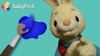 getlinkyoutube.com-Blue | Learning Colors | Harry the Bunny | BabyFirstTV