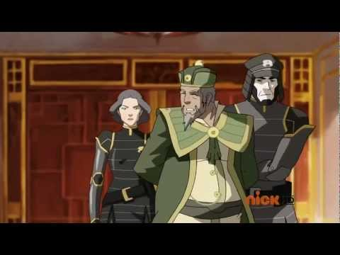 Legend of Korra - The Dark Knight Rises Trailer
