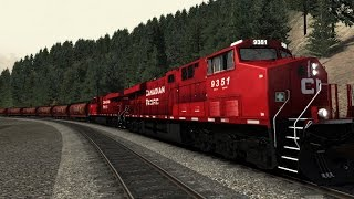 getlinkyoutube.com-Train Simulator 2015 Canadian Mountain Pass