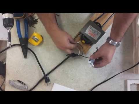 Como hacer un Soldador de Punto Casero con el transformador de un micro ondas
