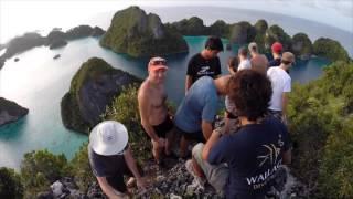 getlinkyoutube.com-Raja Ampat croisière plongée et tours avec ODASIE.FR