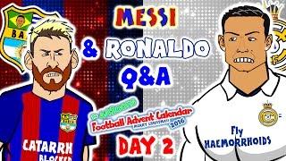 getlinkyoutube.com-Messi & Ronaldo Q&A! (El Clasico 1-1 2016-DAY 2 Advent Calendar!)