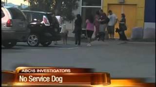 Company keeps money after no service dog