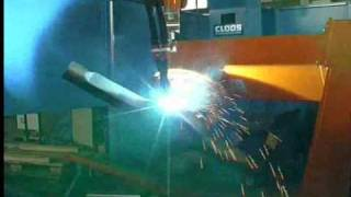 getlinkyoutube.com-Two Station, CLOOS Tandem Welding System for Truck Axle