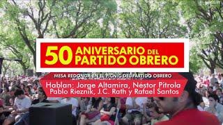 """getlinkyoutube.com-Mesa Redonda // """"Los 50 años del Partido Obrero"""""""