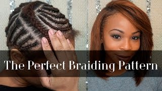 getlinkyoutube.com-Braiding Pattern for A Side Part