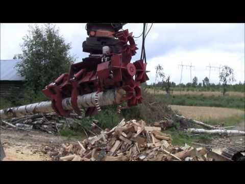 RaMeC Firewood processor - Y Raunisto Oy