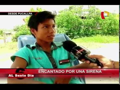 Encantado por una sirena: La desgarradora historia de un joven en Pucallpa