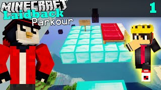 getlinkyoutube.com-Minecraft Laidback Parkour | PARKOUR pe Diamond Blocks?! #1 w/ Andy
