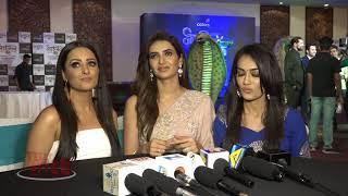 Naagin 3 Launch Event | Surbhi Jyoti | Anita Hassanandani | Karishma Tanna