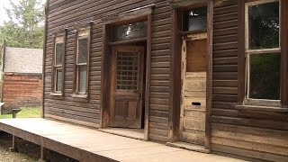 Garnet - A Montana Ghost Town in HD - near Missoula, Montana MT