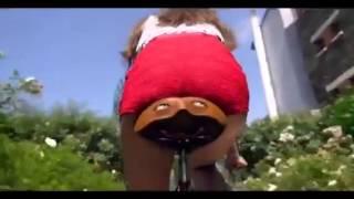 getlinkyoutube.com-French girl bicycle butt