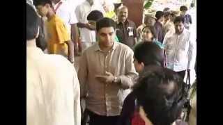 getlinkyoutube.com-Nara and Nandamuri family in Tirumala for Nara Lokesh son Annaprasana celebration