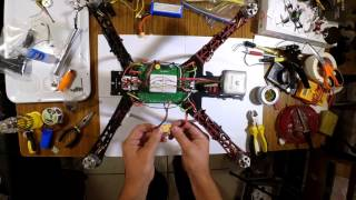 getlinkyoutube.com-CX-20 rebuilt to 450 Frame - Part 11 - Power Up and Test Hover