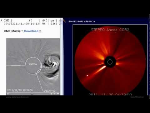 CME Impact / Solar Watch Nov 23, 2011
