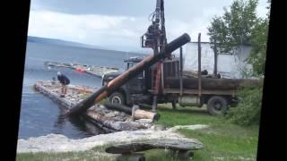 getlinkyoutube.com-Underwater Logging in Maine