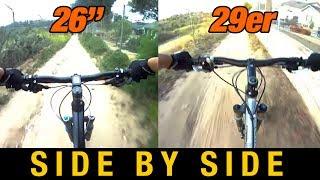 "getlinkyoutube.com-26"" Full Suspension VS 29er Hardtail - 26 versus 29 inch Wheels"