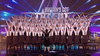 getlinkyoutube.com-Presentation School Choir - Britain's Got Talent 2016 Audition week 3