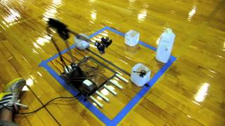 Science Olympiad Robotic Arm, 5DOF, Inverse Kinematic Control