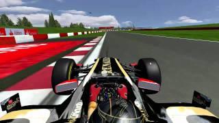 Simulador Rfactor - Circuito de Silverstone F12011
