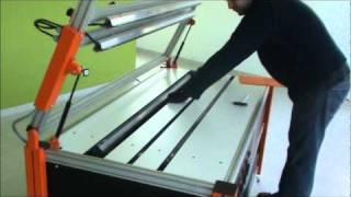 getlinkyoutube.com-Máquinas de dobrar acrílico RGP OUPLAN