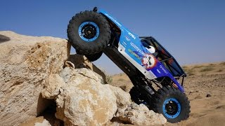 getlinkyoutube.com-WLToys 2 Speed 4WD Cross Country RC Truck Bashing and Crawling