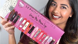 getlinkyoutube.com-SEPHORA FAVORITES Give Me More Lip: Review & LIP SWATCHES!