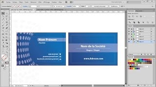 getlinkyoutube.com-Carte visite recto verso || Tutoriel Illustrator