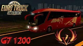 getlinkyoutube.com-Probando el Mod G7 1200 - ADO México 75 años - Euro Truck Simulator 2