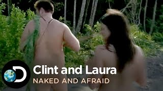 getlinkyoutube.com-Clint and Laura Get Attacked by Sandflies | Naked and Afraid