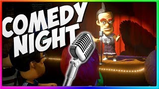 These Guys Have Funny Jokes!   Comedy Night Funny Game