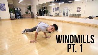 Learn How To Breakdance   Beginner Windmills Pt. 1   Power Move Basics